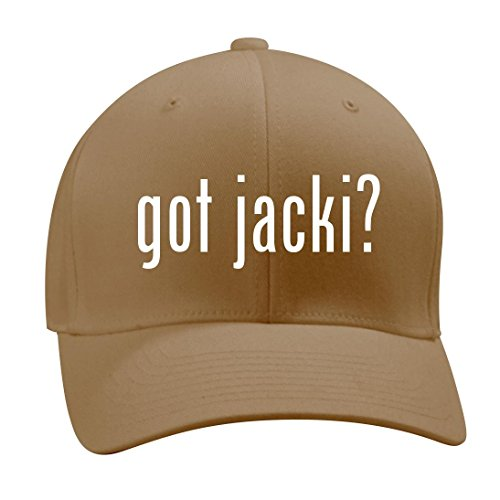 got jacki? - A Nice Men's Adult Baseball Hat Cap, Khaki, - Jackie 11 Ohh
