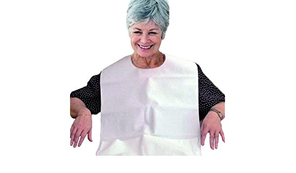 Amazon.com: Adult bib waterproof and reusable terry by Ortotex: Health & Personal Care