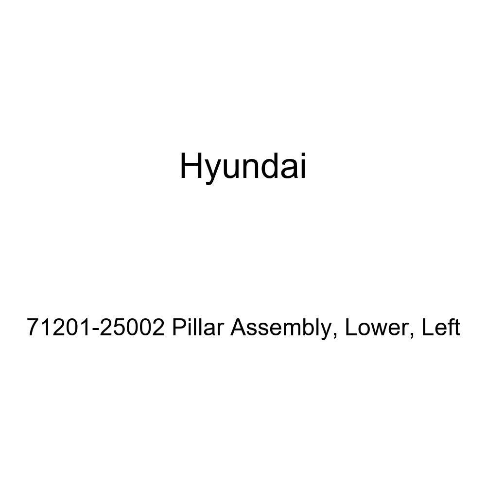 Left Lower Genuine Hyundai 71201-25002 Pillar Assembly