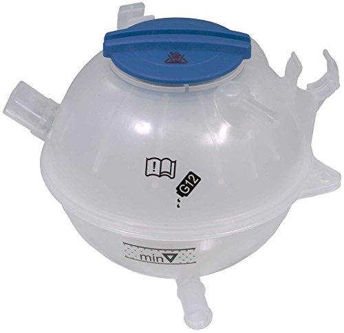APDTY 714364 Coolant Overflow Degas Bottle Reservoir w/Cap Fits Select Audi A3, Q3, TT Quattro, Volkswagen Beetle, CC, EOS, Golf Gti, Jetta, Passat, R32, Rabbit, Tiguan (Replaces 1K0121407A) ()