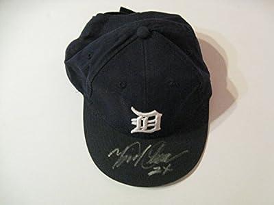 Miguel Cabrera autographed/Signed Detroit Tigers Hat COA