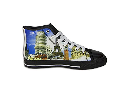 9ccf827f3e6a84 Classic Lace-up Women s High Top Rubber Sole Canvas Shoes RWBY Anime  Design  Amazon.ca  Sports   Outdoors