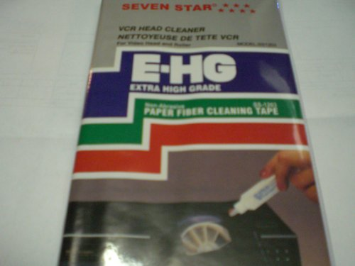 VCR Head Cleaner Extra High Grade, for Video Head and Roller SS-1203