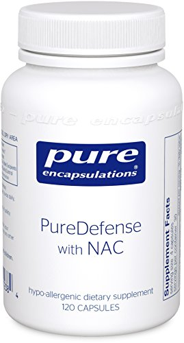 Pure Encapsulations - PureDefense with NAC - Hypoallergenic Supplement for Enhanced Immune Defense and Upper Respiratory Support* - 120 Capsules by Pure Encapsulations