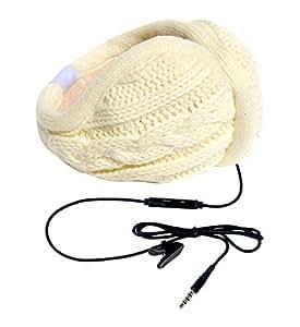 Hi-Fun hi-Ear - Auriculares de diadema cerrados (con micrófono), blanco