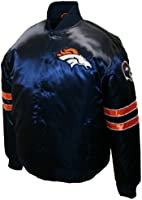NFL Men's Denver Broncos Prime Satin Jacket
