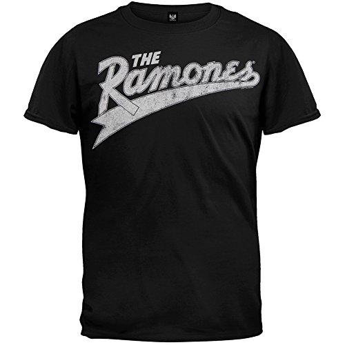 Ramones - Vintage Baseball Logo T-Shirt - X-Large