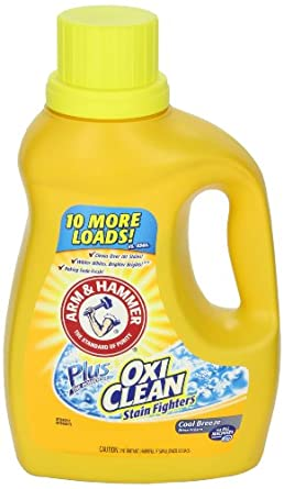 arm and hammer laundry detergent arm amp hammer 84555 liquid laundry detergent plus oxiclean 28419