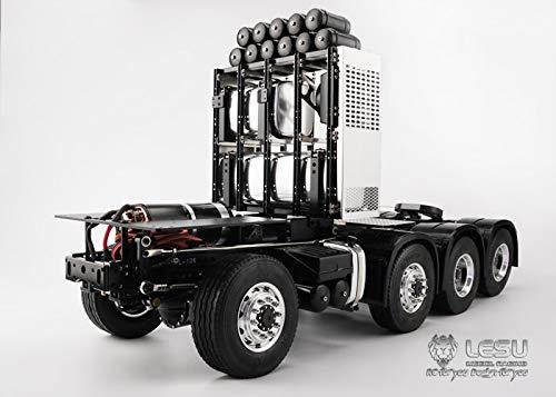 LESU LS-20130013 1/14 トラック トレーラーR470 R620タイプシャーシ 8X8 全輪駆動 デフロックあり B07PDK8QQP