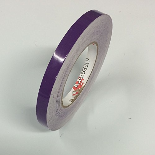 ORACAL 651 Vinyl Pinstriping Tape - Stripe Decals, Stickers, Striping - 1/4 Purple