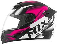Capacete Mixs MX2 Storm 58 Rosa