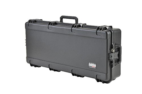 (SKB Ultimate Watertight Double Bow Rifle Case, Black )