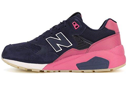 New Balance 580 Hommes Sneaker Bleu MRT580UP, Taille:45