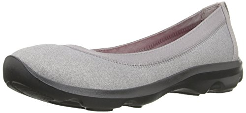 Crocs Día ocupado heathered plana Light Grey