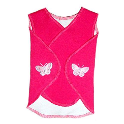 Jacqui's Baby Girls' Pretty Butterflies Snuggler Wrap, Micro ()
