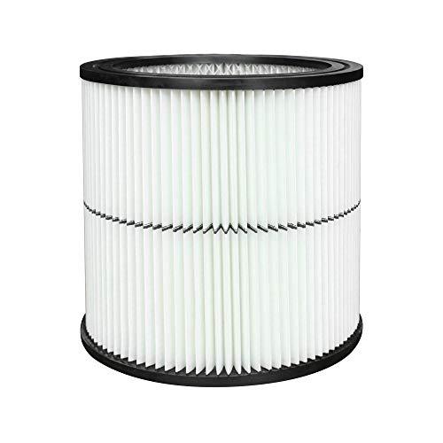 (General Purpose Vacuum Cartridge 17884 Filter Replacement for Craftsman 9-17884 17920 17929 17935 17937 Shop Vac Part Fit 6 Gallon & Large Vacs, 1 Pack)