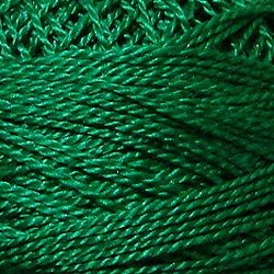 (Valdani Perle Cotton Size ~12~ Embroidery Thread, 109 Yard Ball - 1252 Rich Green)