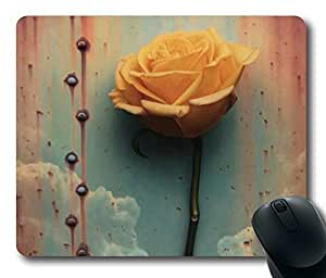 "Design for Office Worker and Gamer Standard Oblong/Rectangular mouse pad in 9""*7""- Butterfly Hand"