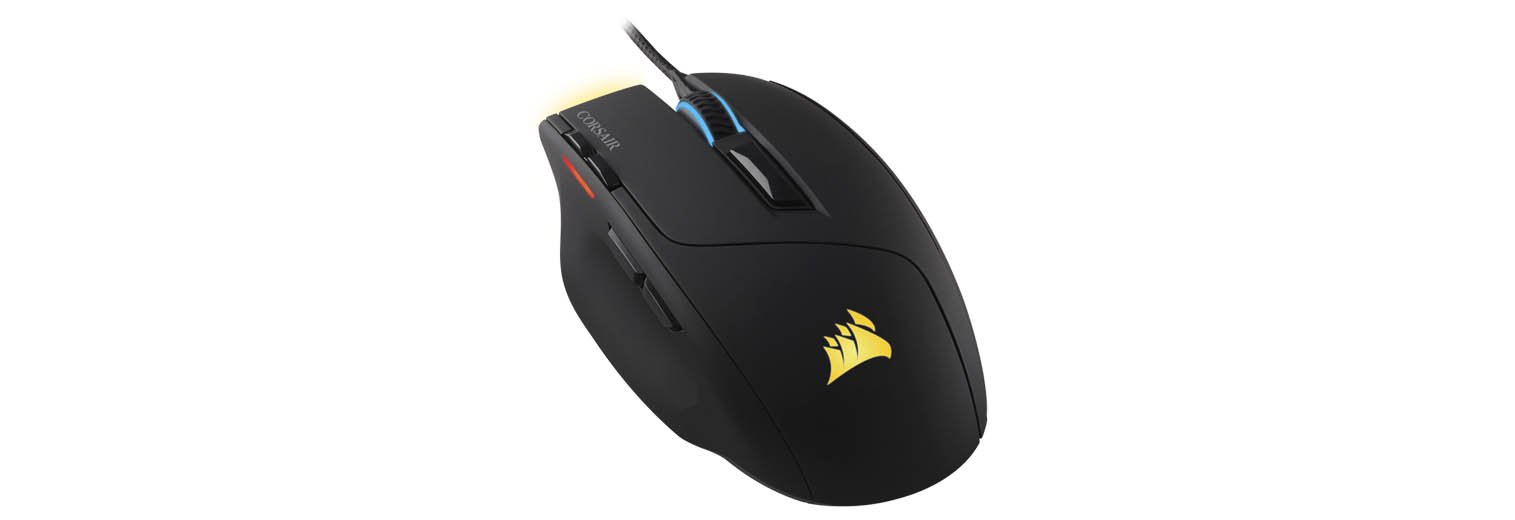 Corsair Sabre - RGB Gaming Mouse - Lightweight Design - 10,000 DPI Optical Sensor - Forward/Back & DPI Preset Buttons by Corsair