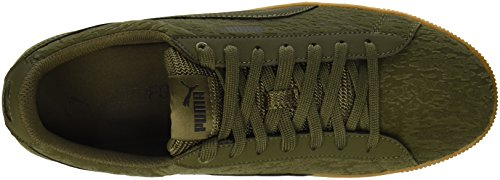 Puma Womens Platform Vikky Vr Sneaker Olive Night-olive Night