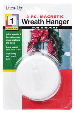 - Magnetic Wreath Hanger by Lites UP MfrPartNo 71005-1WOSAC