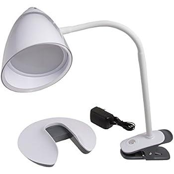 Illuminator 41898 2 In 1 Clip On Flex Led Desk Lamp With