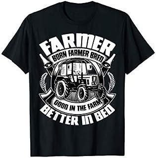 ⭐️⭐️⭐️ Farmer Born Farmer Bred , Good In The Farm  Need Funny Tee Shirt Need Funny Short/Long Sleeve Shirt/Hoodie