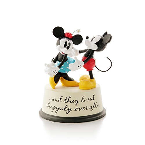 Hallmark Disney Mickey Mouse and Minnie Mouse Figurine