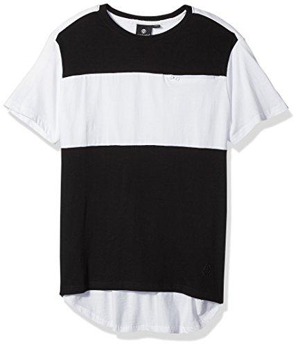 Akademiks Mens New Rule Color Block T-Shirt