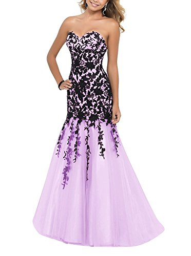 Kleid Fanciest Damen A Lavendel Linie rqAtqwz0