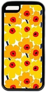 Yellow Flower Theme Iphone 5C Case