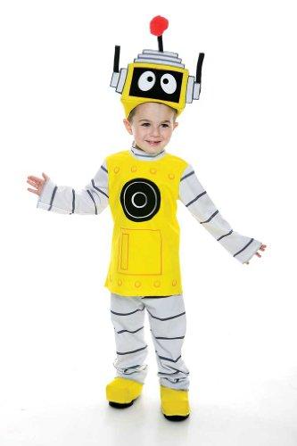 Yo Gabba Gabba Plex Toddler Costume, 2T(Shoes not Included)