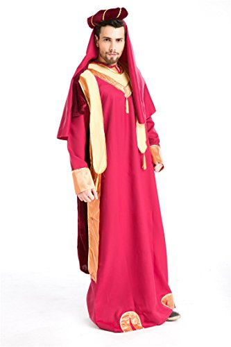PINSE Aladdin Greek Priest Halloween Costume