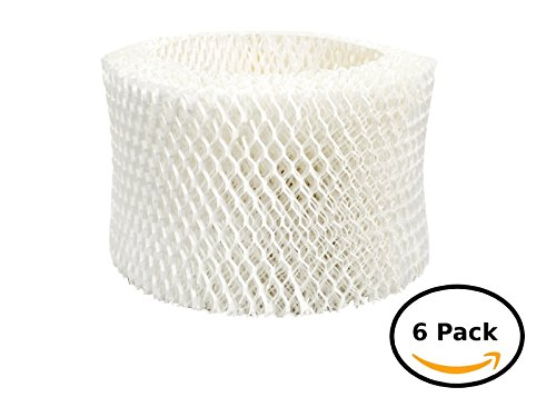 Honeywell Humidifier Wick Filter, Single, HAC-504V1 (6) by Honeywell