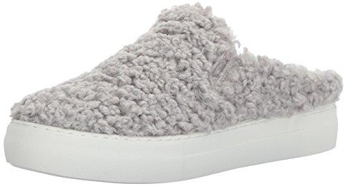 J Slides Women Affair Fashion Sneaker, White, 7.5 US/US Size Conversion M US Light Grey