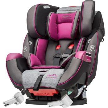Amazon.com: Evenflo Symphony DLX Platinum Convertible Car Seat ...