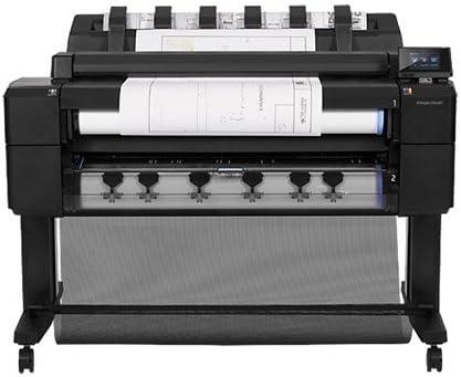 HP Designjet T2500 36-in PostScript eMFP - Impresora de gran formato (60 x A0 pph, 120 pph, 2400 x 1200 DPI, HP-GL/2, HP-RTL, PCL 3, PDF 1.7, PostScript 3, TIFF, UFRII-LT, Negro,