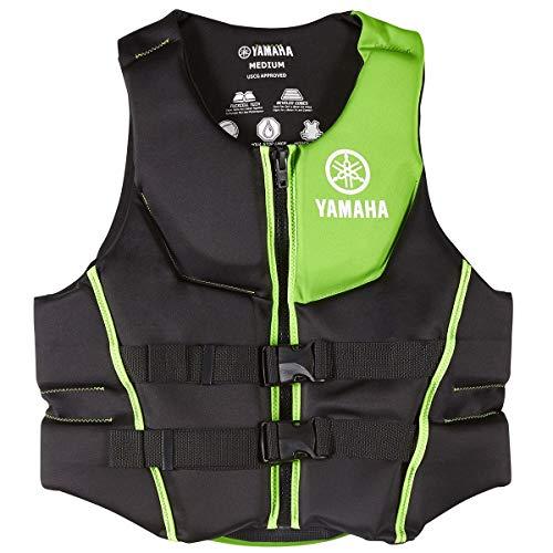 (OEM Yamaha Men's Neoprene 2-Buckle PFD Life Jacket Vest (Green,XX-Large) )