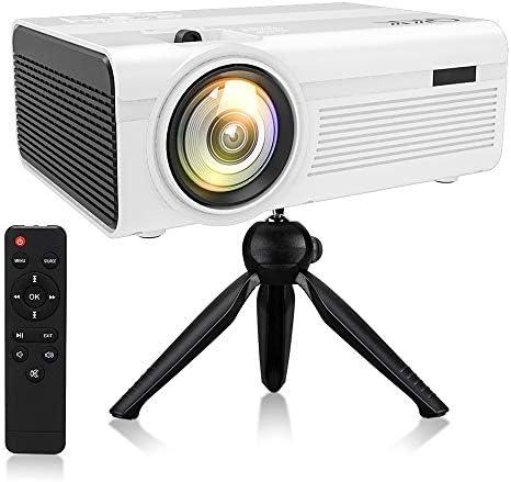 [해외]QKK 2600 루멘 소형 영사기 【 외부 전원으로 더 안전PSE 인증 받는 】 1080P 풀 HD에 대응 가능 헤매고컴퓨터PS3PS4게임기DVD プレヤ? 등 연결 가능 USB마이크로 SDHDMIAVVGA 장착 / QKK 2600 Lumens Small Projector [Safer and PSE Certified wit...