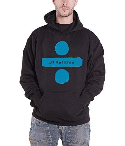 Ed Sheeran Hoodie Divide Album Logo Official Mens Black Pullover