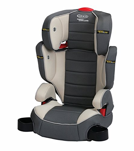 Graco Backless Turbobooster Car Seat (Graco TurboBooster High Back Booster Car Seat with Safety Surround - Rush)