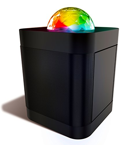 Polaroid Bluetooth Wireless Party Speaker with Dancing LED Lights, Portable & Rechargeable