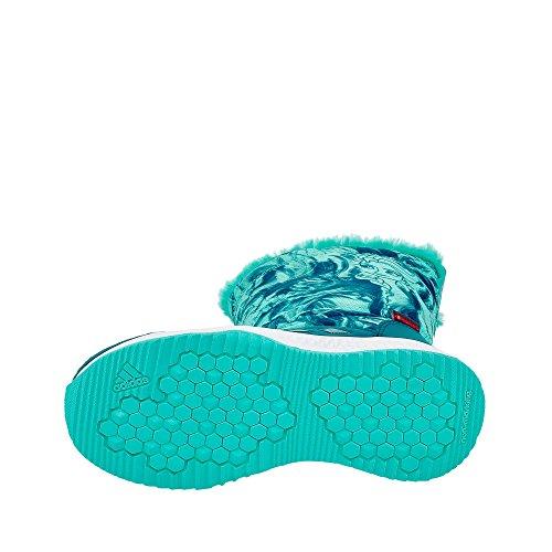adidas Unisex-Kinder DY Frozen Rapidasnow C Fitnessschuhe verschiedene Farben (Petnoc/Aquene/Ftwbla)
