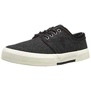 Polo Ralph Lauren Men's Faxon Low, Black/Grey, 8.5 D US
