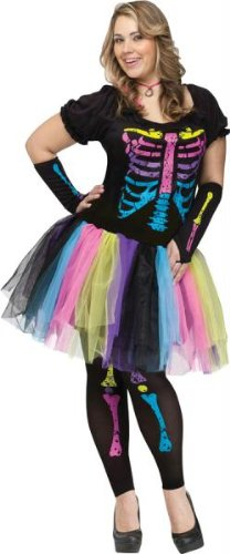 Funky Punk Bones Plus Size Costume