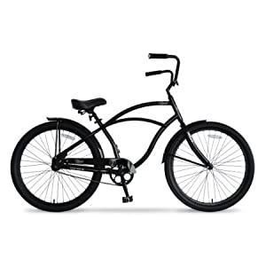 Hyper Mens Beach Cruiser Bikes 26 in
