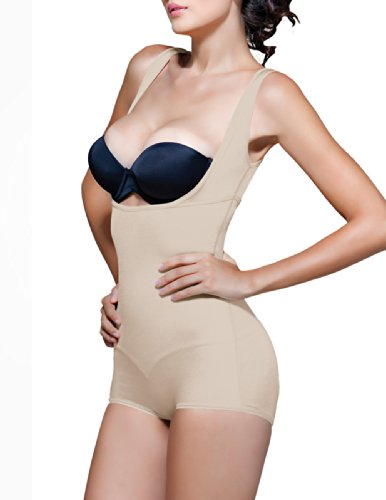 Vedette Womens 138 Lillian High-back Underbust Body Shaper (M (36), Nude)