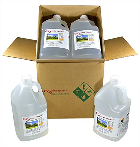 Glycerin - Non GMO - RSPO - Sustainable Palm Based - USP - KOSHER - PURE - Pharmaceutical Grade - 4 separate Gallons (each Gallon is 10.75 lbs or 172oz net wt) ()