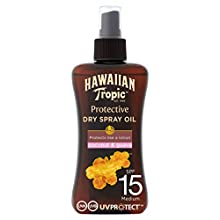 Hawaiian Tropic - Protective Dry Oil Spray - Aceite bronceador - 200 ml