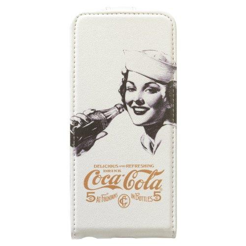 Coca Cola CCFLPiP5000S1302 Flip Golden Beauty Case für Apple iPhone 5/5S